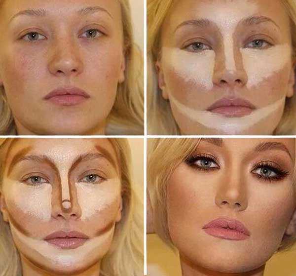 Contornear el rostro